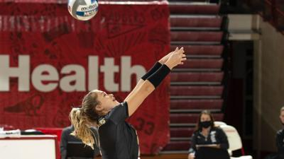 1/25/21 Volleyball v. Wisconsin, Hayley Bush