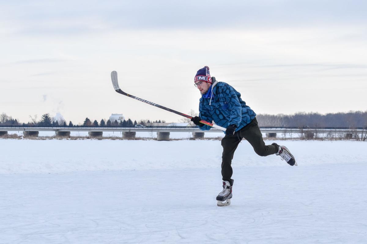 2/14/21 Celery Bog Ice Skating, Brian Anderson