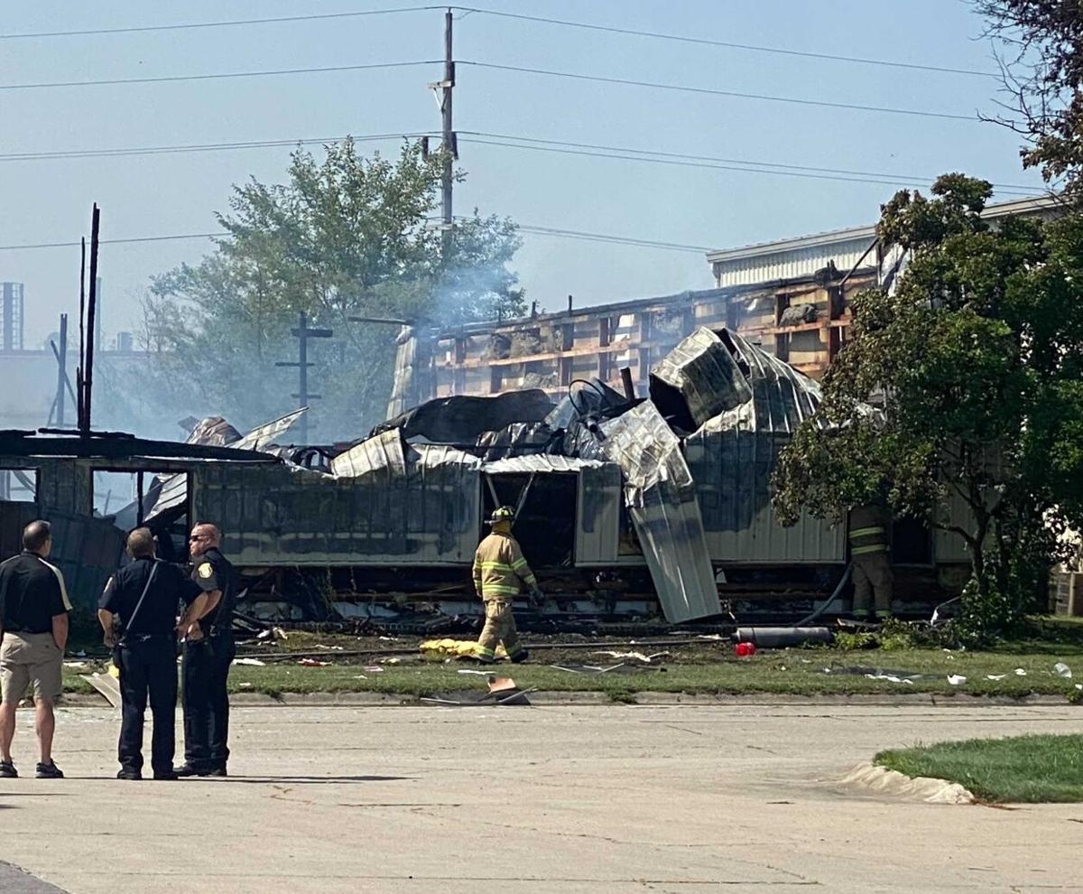 Lafayette business fire 7/26/22