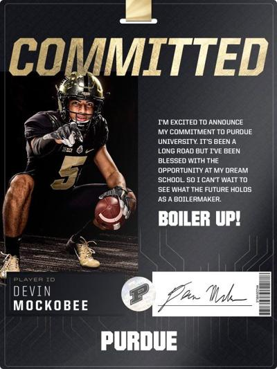 6/16/21 Devin Mockobee commitment graphic