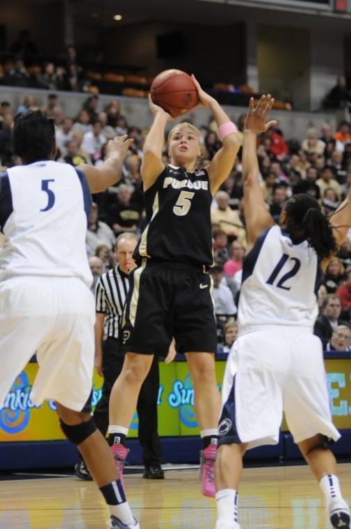 3/3/12, Big Ten Tournament, Brittany Rayburn vs. Penn State