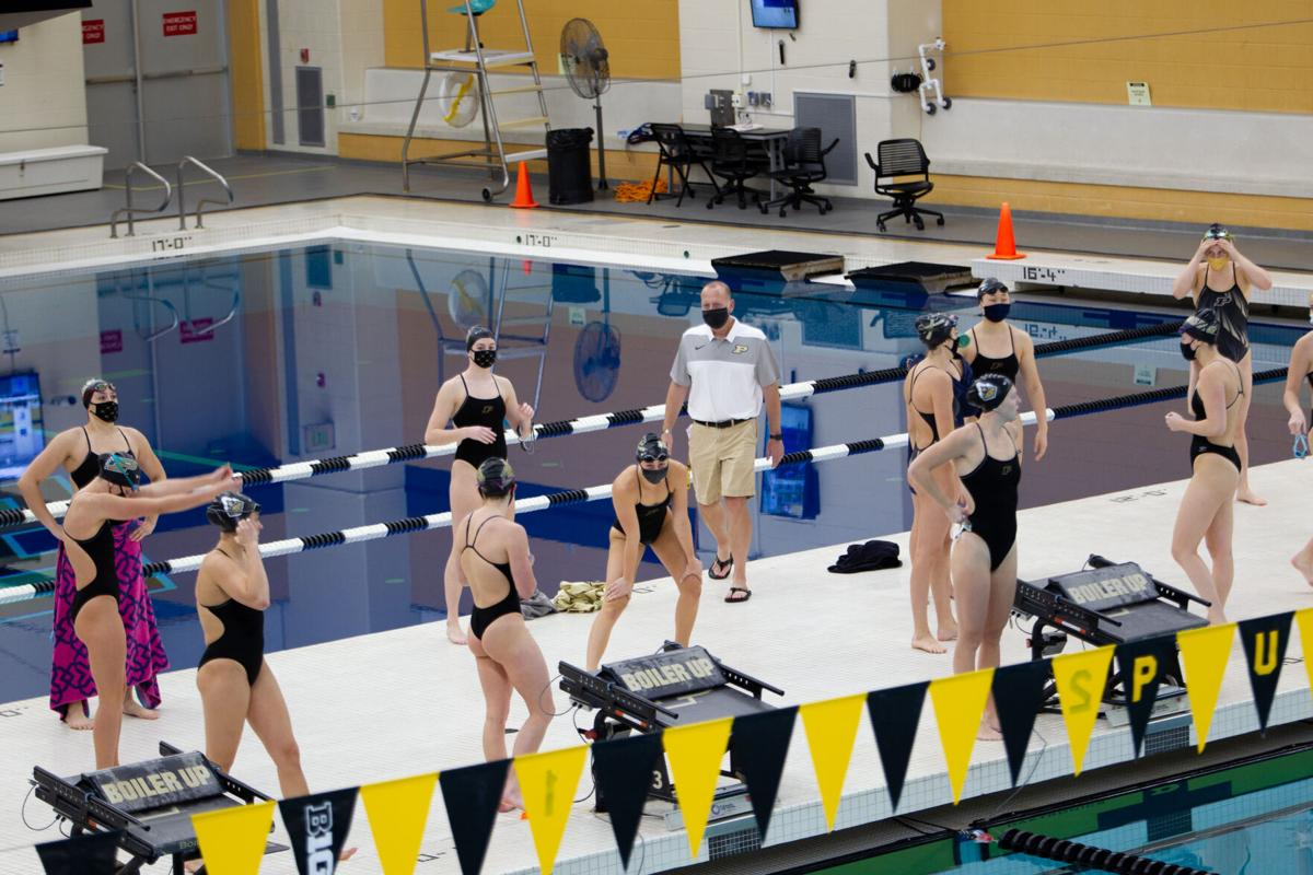 11/6/20 Intrasquad and Dive Meet, Before Start