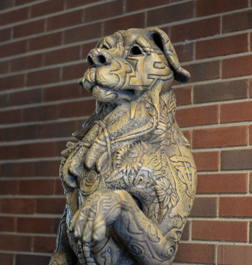 7/14/21 Veterinarian Shortage, Dog Statue