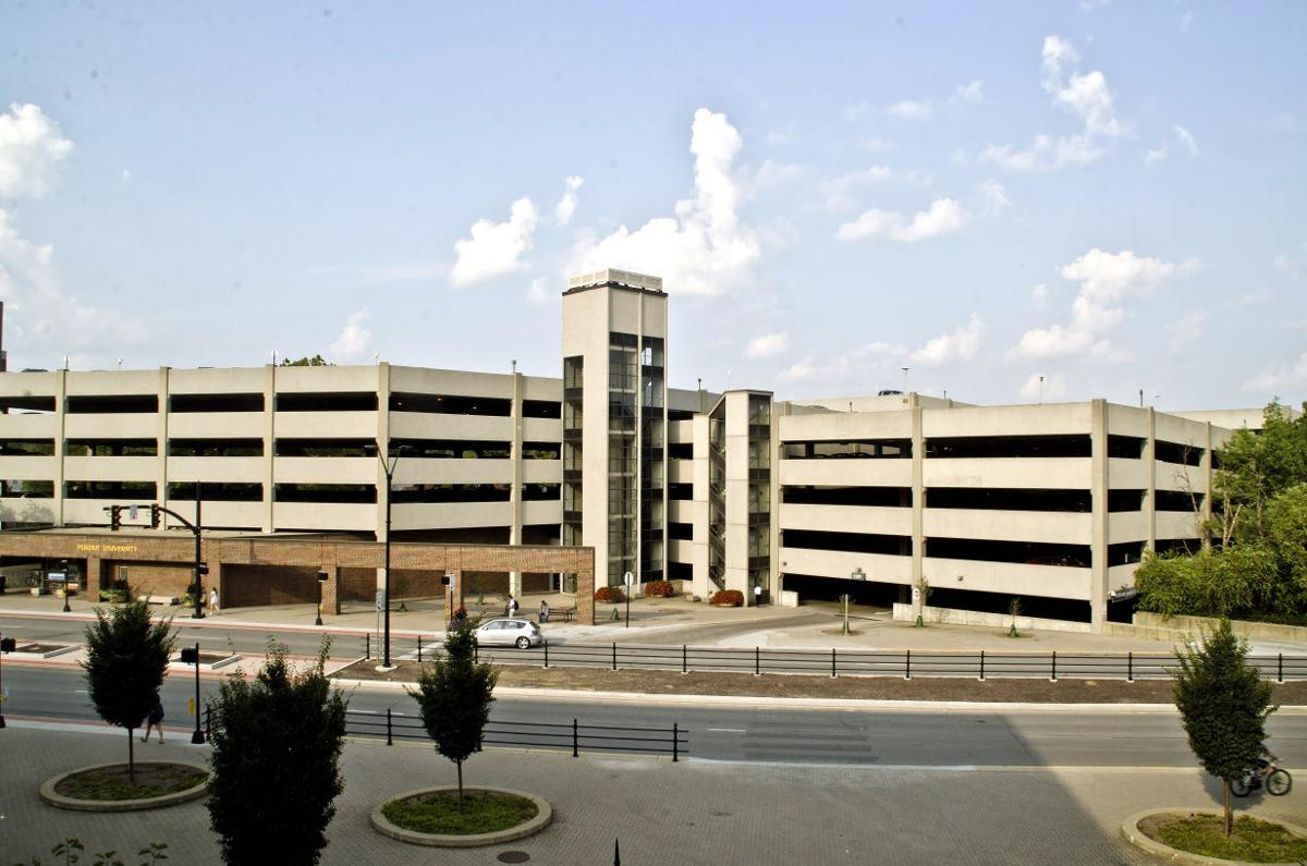 Two Purdue Parking Garages Will Be Pay For Football Game
