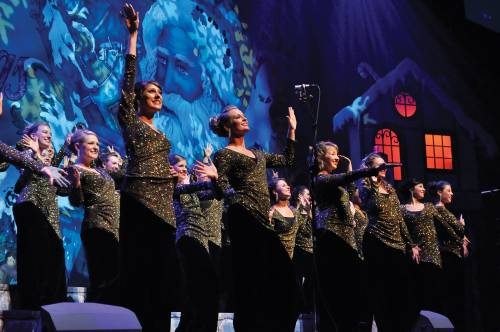 purdue musical organizations puts on 77th annual christmas show
