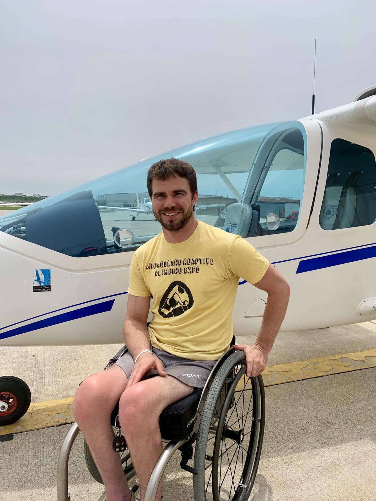 Sam Mahoney Able flight