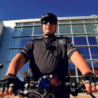 Purdue police use bicycles to patrol campus