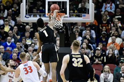 3/30/19 NCAA Tournament, Virginia, Aaron Wheeler