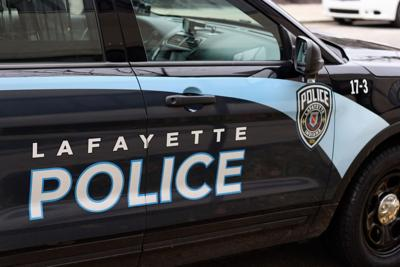 1/2/19 Police Stock Images, Lafayette Police Car