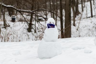2/10/21 Daily Photo, Snowman