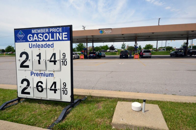 Chattanooga gas prices up 15.6 cents per gallon in the past month