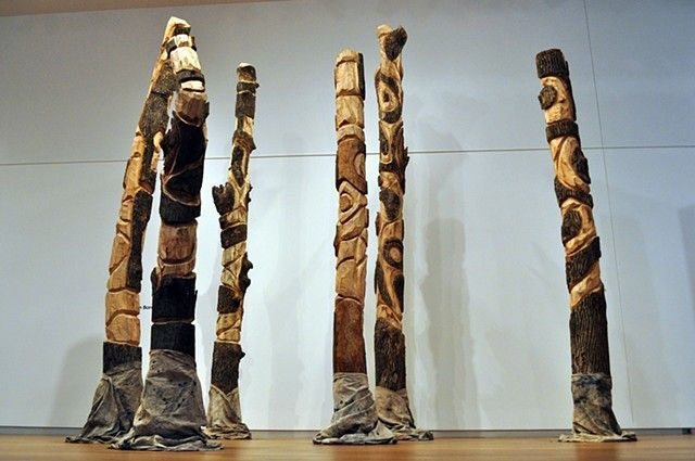 """10/27/15 Tree Carving, """"People of the Fire"""""""