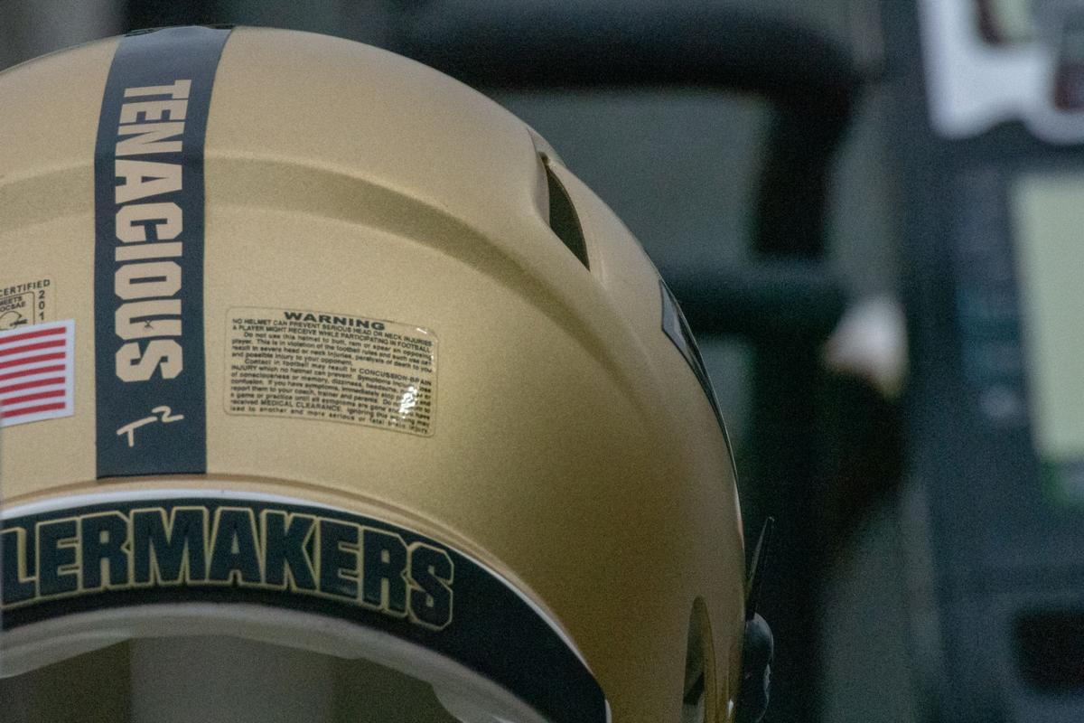 11/17/18 Wisconsin, Tyler Trent Helmet Sticker