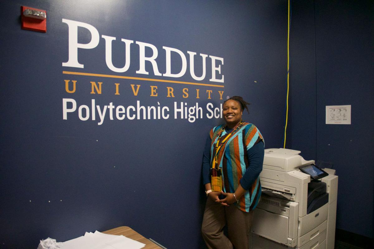 12/9/19 Purdue Polytechnic High School, Shatoya Ward