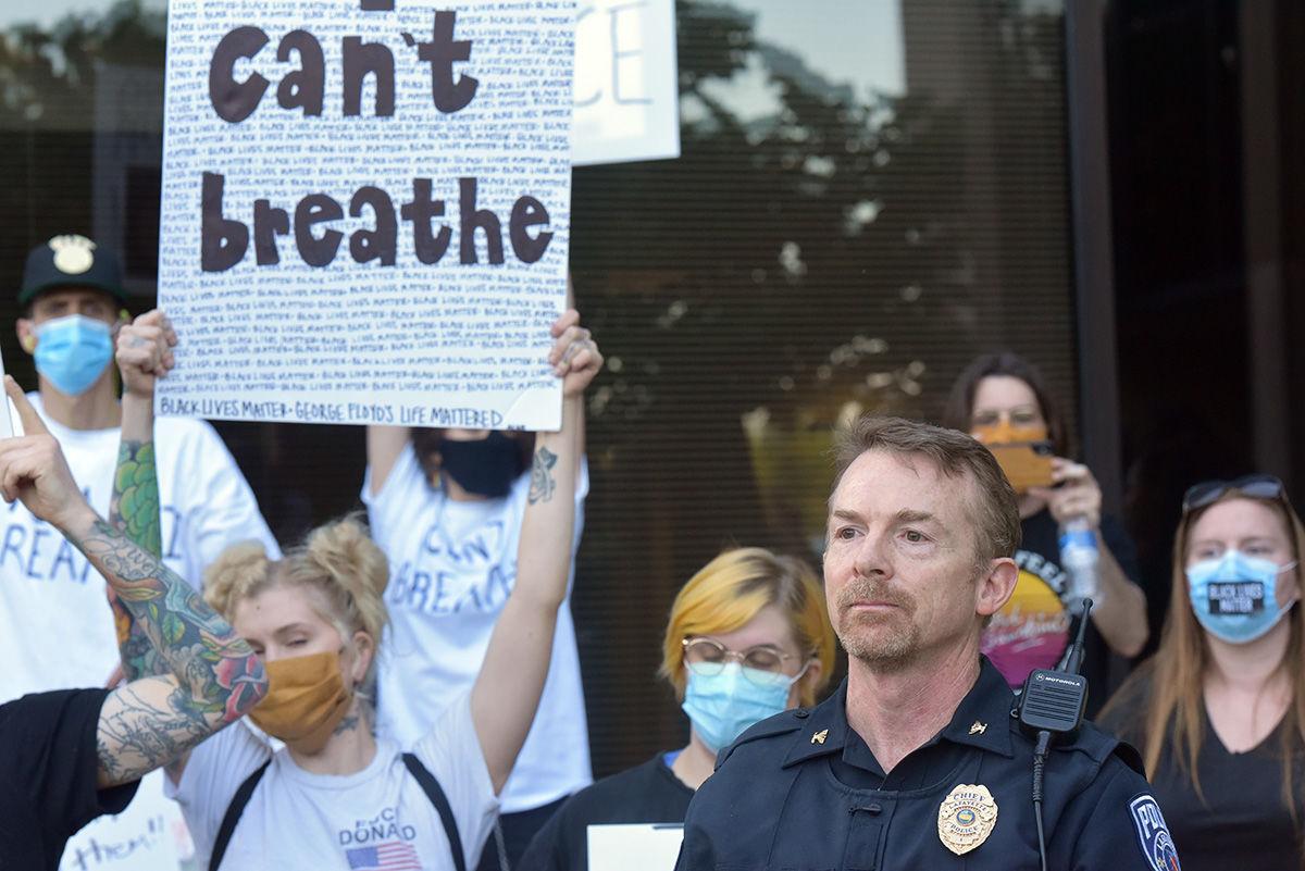 "5/31/20 Lafayette Protest ""can't breathe"""