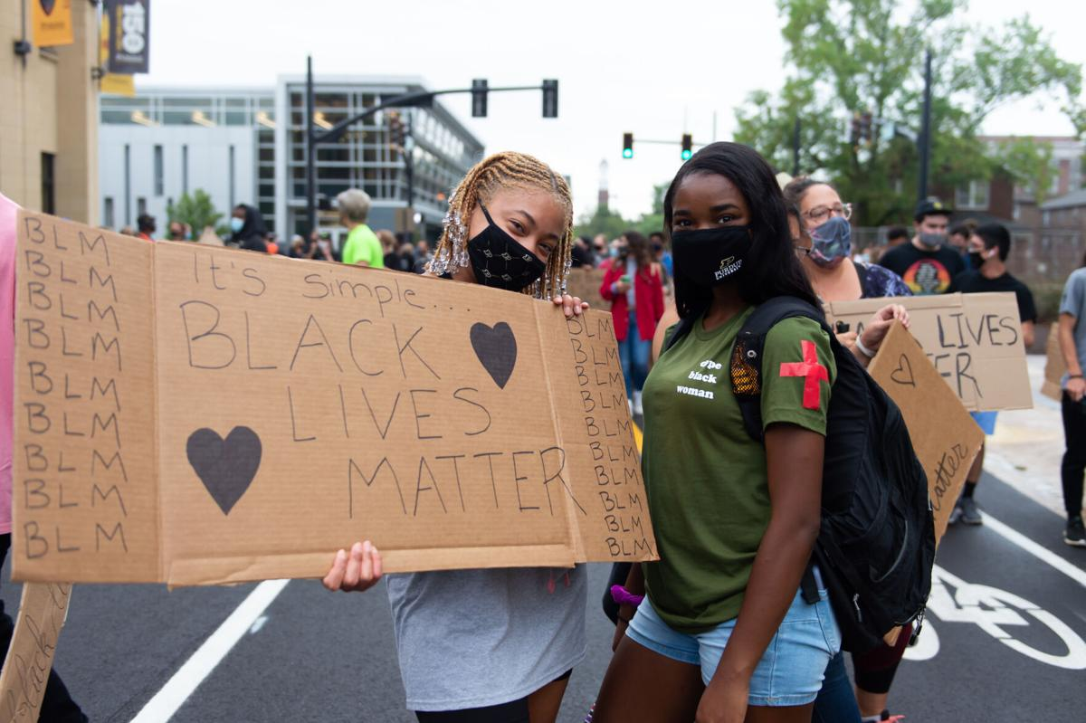 9/7/20 BLM Protests Chyna Davis and Kynnidy Hampton