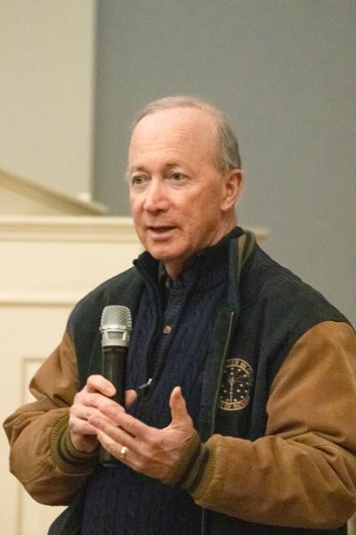 Mitch Daniels Stock Photos, Entrepreneurship Callout