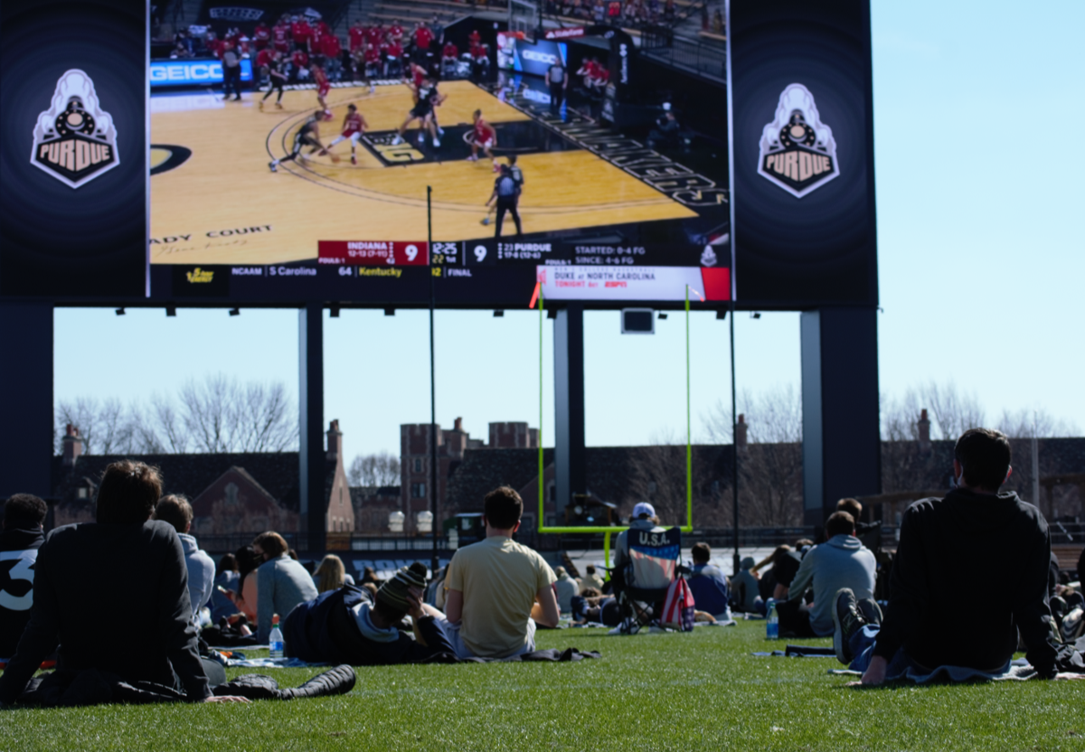 3/6/21 Purdue Watch Party, Students