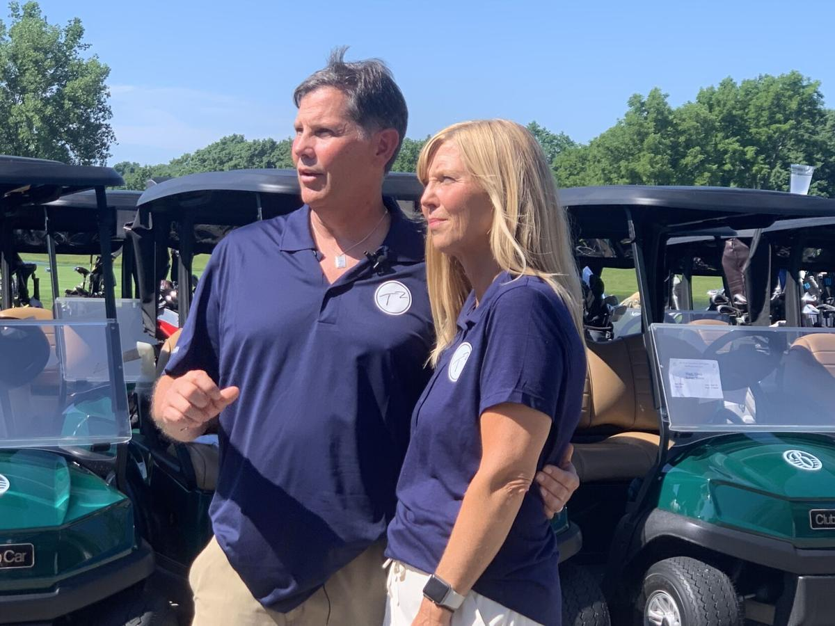 6/28/21 Inaugural Tee off for Tyler, family