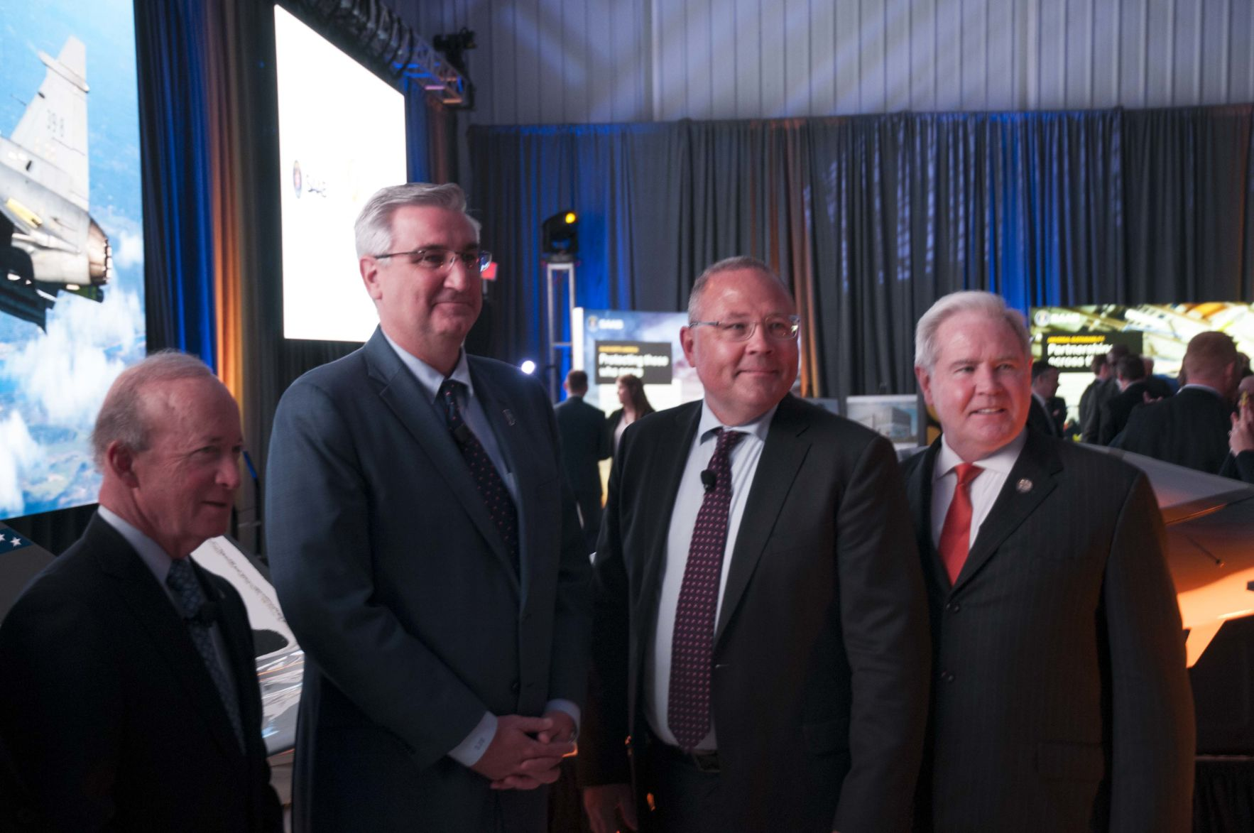 5/8/19 Saab Announcement, Daniels, Holcomb and Buskhe