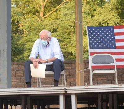 8/28/21 Sen. Bernie Sanders Town Hall, Sanders Looking Focused