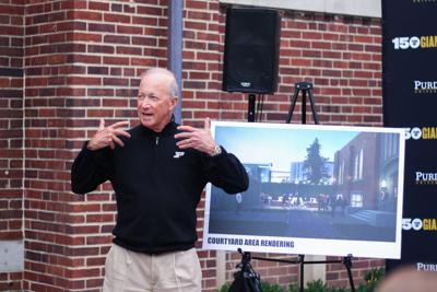 9/22/18 Union Hotel Renovation Announcement, Mitch Daniels