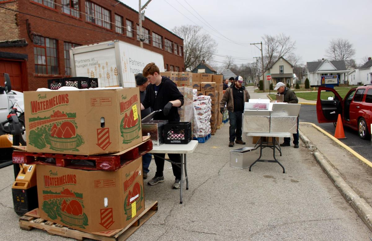 3/24/20 Food Finders Drive-Thru, Volunteers
