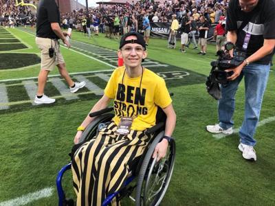 8/30/18 Tyler Trent, Purdue football against Northwestern