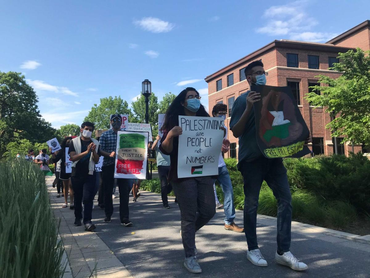 5/25/21 Palestinian Protest, Marching