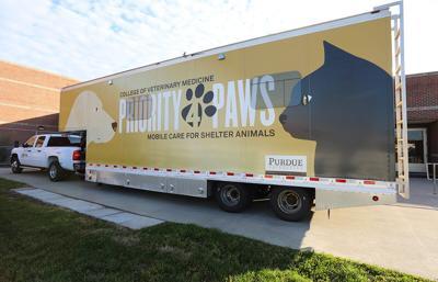 12/18/19 Purdue veterinary mobile unit