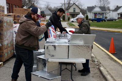 3/24/20 Food Finders Drive-Thru, Ted Sparger