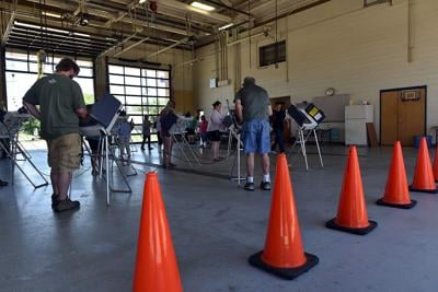 6/2/20 Indiana Primary Election, Lafayette Fire Station No. 5