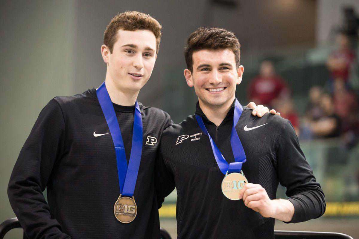 Big Ten Championships, Ben Bramley, Brandon Loschiavo