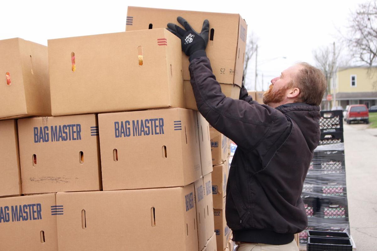 3/24/20 Food Finders Drive-Thru, Jay Morgan