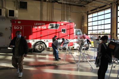 11/3/20 Election Day Photos, Lafayette Fire Department Station #5