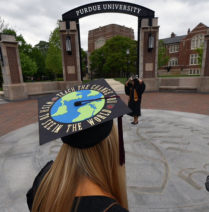 5/10/19 Purdue Commencement Photo Opportunities