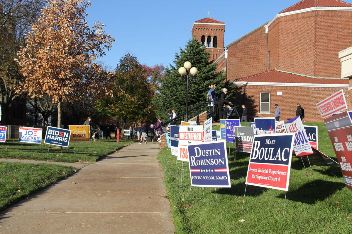 11/3/20 Election Day Photos, St. Lawrence
