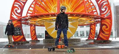 1/26/20 Electric skateboards; Jesse Giampaolo, Hudson Tsang