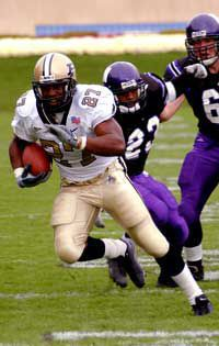 10/26/02 Northwestern, Brandon Jones