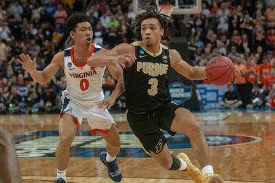 3/30/19 NCAA Tournament, Virginia, Carsen Edwards, Kihei Clark