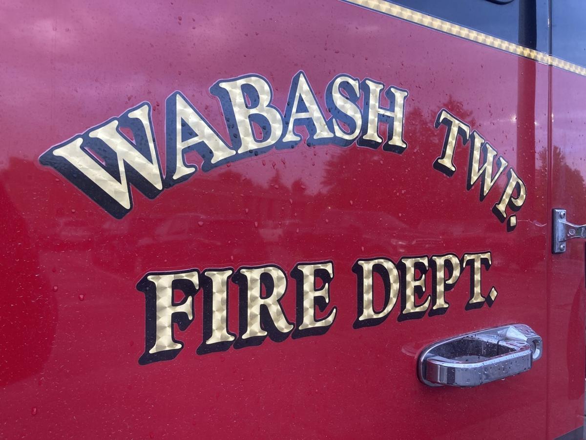 Wabash township firetruck closeup