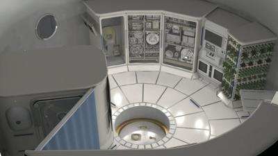 NASA space habitats