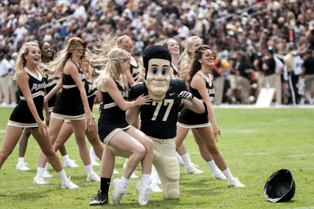 Purdue Football Chippewas Sting Boilers Early En Route To
