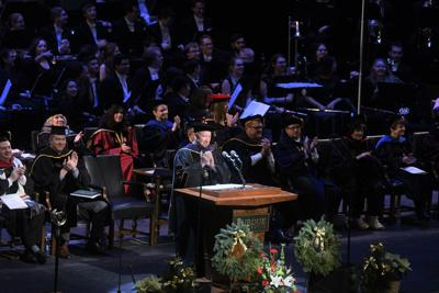 12/15/19 Division I Commencement President Daniels