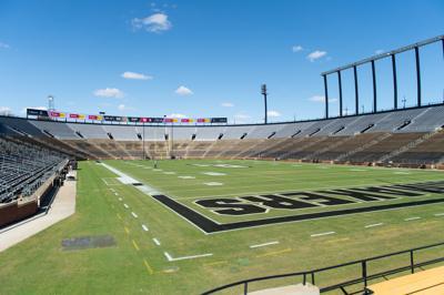 10/16/20 Ross-Ade Stadium, Painted Field