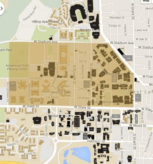 2/12/15 Snapchat Geofilter Map