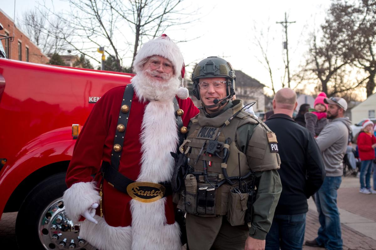 12/2/17 Lafayette Christmas Parade, SWAT