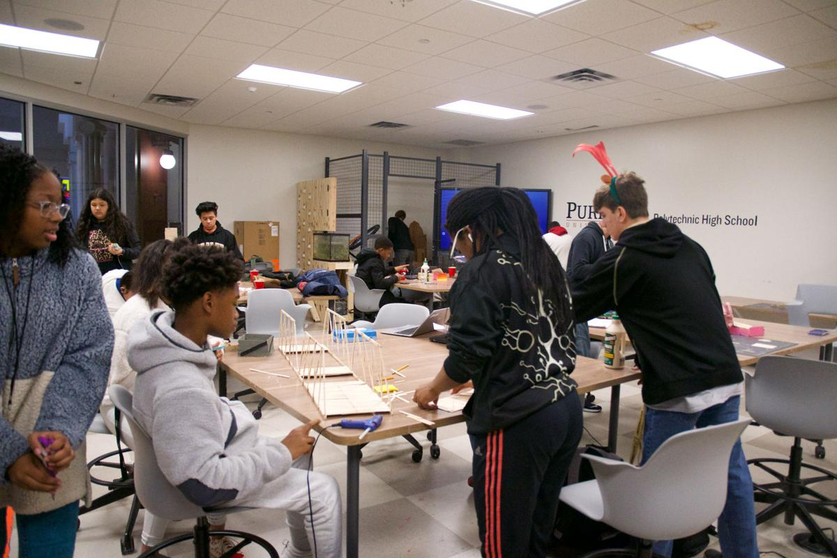 12/9/19 Purdue Polytechnic High School Makerspace