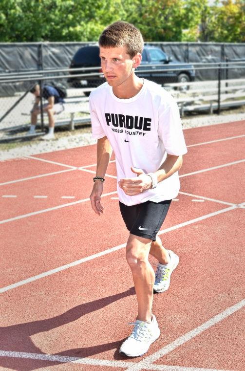 9/30/14 Purdue Cross Country, Matthew McClintock