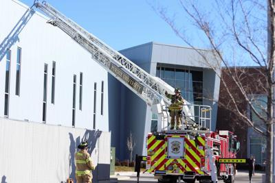 1/8/20 Purdue Technology Aerospace building, fire